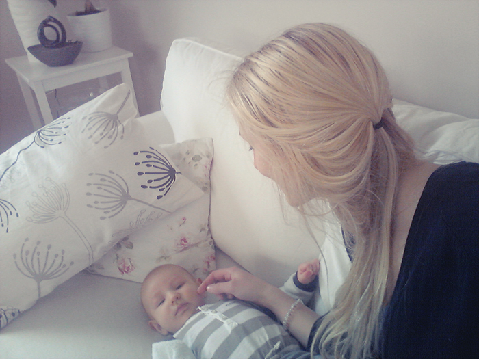 Gosar med lille Noak! &lt;3