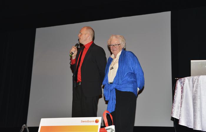 Jacke och Nickes fru Hervor Sjödin!