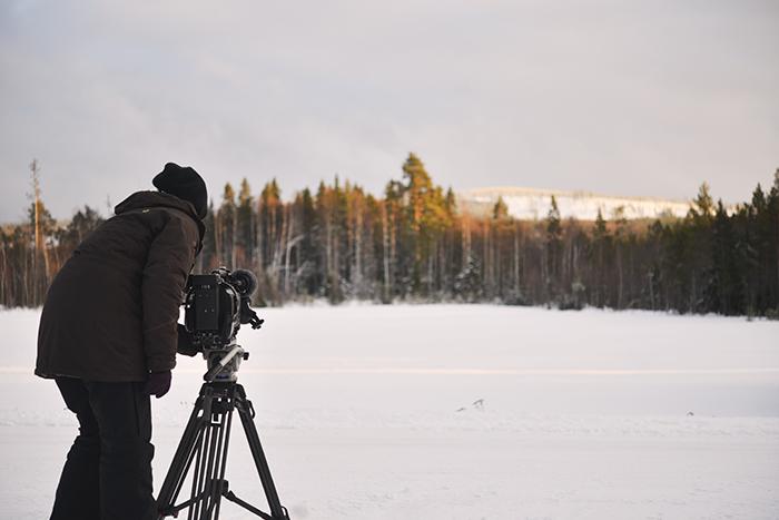 SVT filmar vyn där över 100 vindkraftverk ska byggas.
