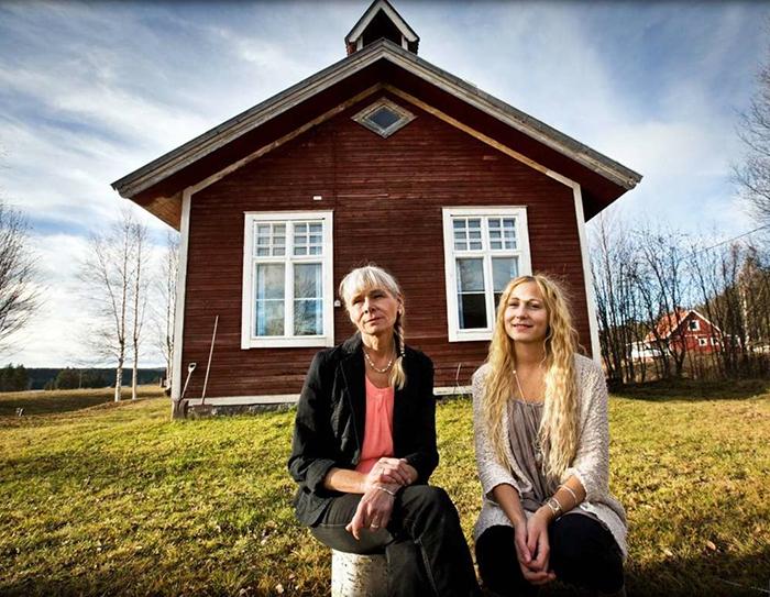 Jag och mamma Anita! Foto: Katarina Östholm