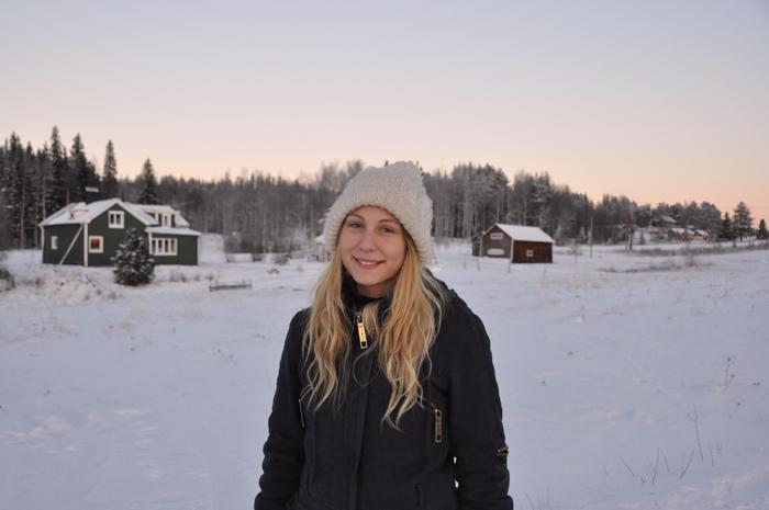 25 november 2010! För fyra år sedan. Min allra första vinter i Grundtjärn.