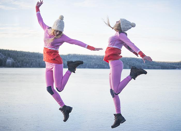 Att hoppa högt på isen var en konst i sig. En spänning i att inte riktigt veta hur det skulle gå när jag landade.