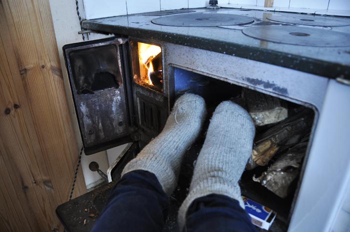 fryser om fötterna