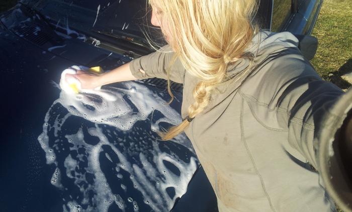 Tvättar bort alla fel på bilen ;)
