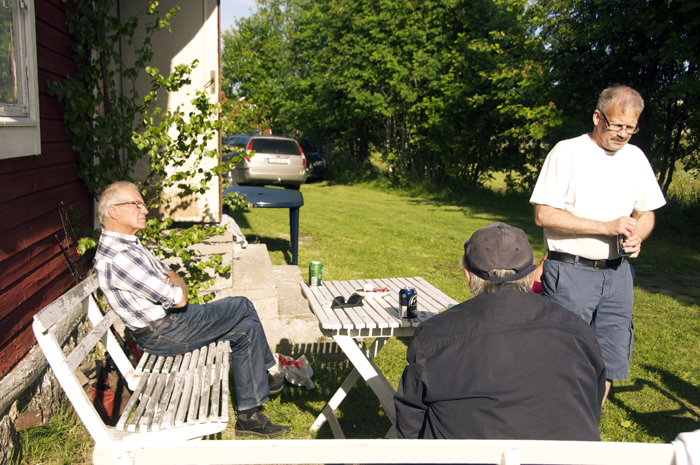 Tage, Svenolof och morbror Ronny :)