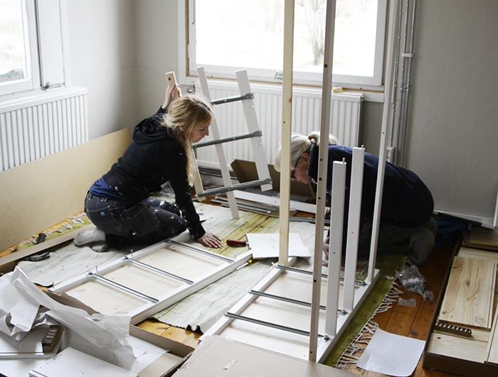 Möbelmontering