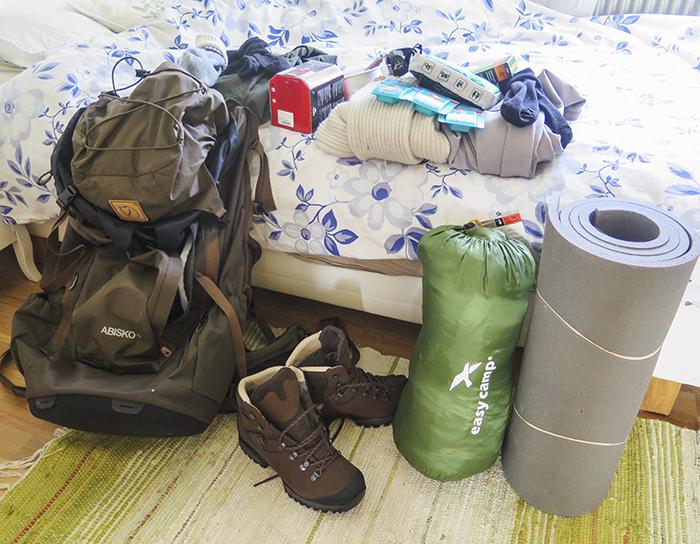 Packning på gång!