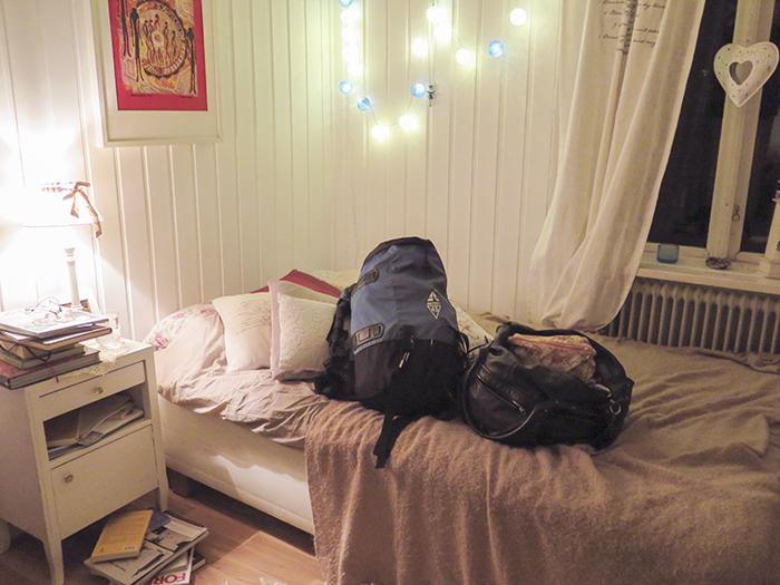 Väskorna packade