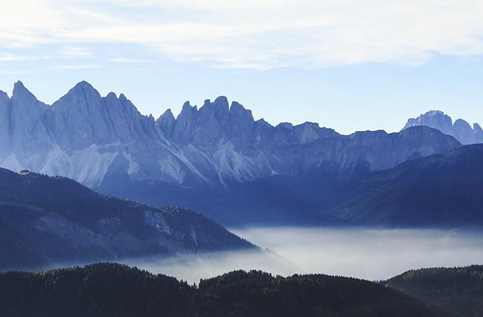 Så vackra berg!