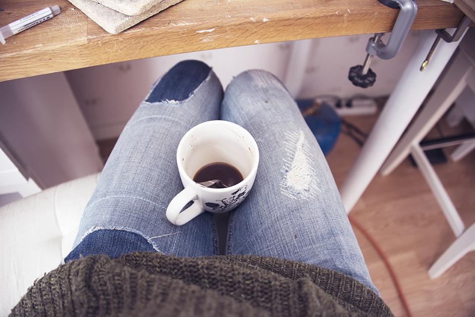 Tänk vilken tur att det finns kaffe.