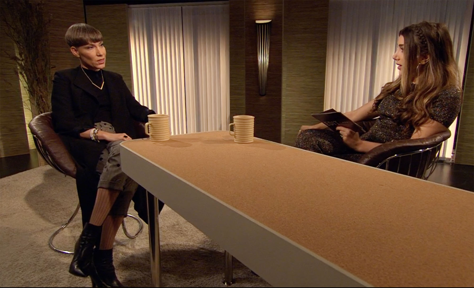 Darja Isaksson gästar Gina Dirawi i programmet Edit: Dirawi som sändes igår kl 22.15 på SVT2.