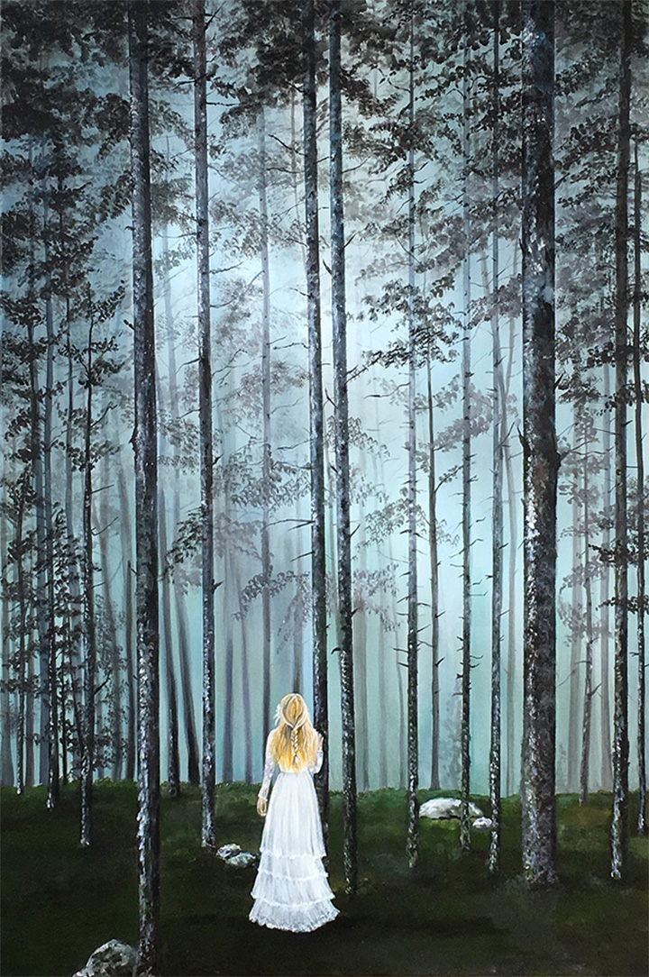 New-Painting---Into-The-Woods-1